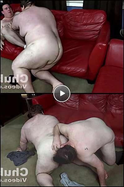 black chubby gay men video