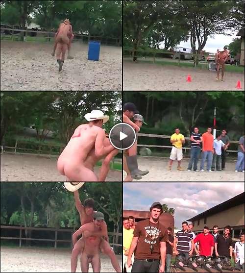 straight college guys nude video